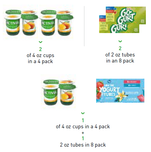 How to purchase 32 ounces of yogurt